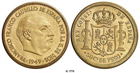 50 centavos de peso-1949